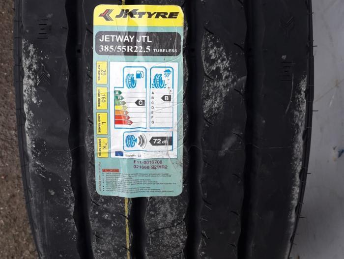 JK Tyre 385/55R22.5 JTL 20PR K TL